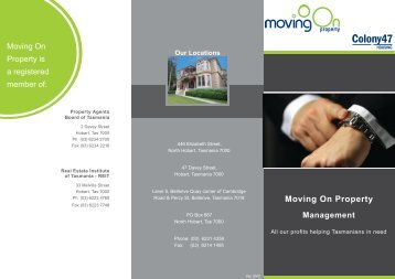 Moving On Property Management - Rainbow Beach Real Estate