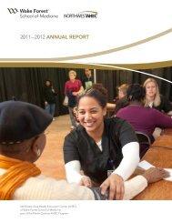 NWAHEC Annual Report 2012 REV WEB FINAL - National AHEC ...