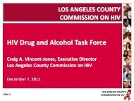 HIV Drug and Alcohol Task Force