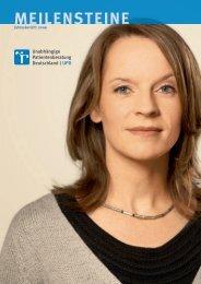 Jahresbericht 2009 - Unabhängige Patientenberatung Deutschland