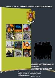 Ghidul cetateanului in situatii de urgenta - IGSU