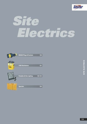 Site Electrics - WF Senate