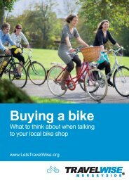 Buying a bike - the TravelWise Merseyside website