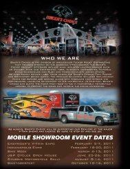 mobile showroom event dates