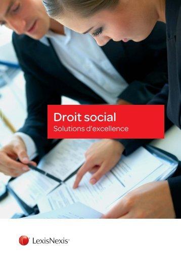 Plaquette Droit Social-2.indd - LexisNexis