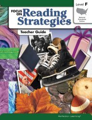 Grade 6 (Book F) - Perfection Learning