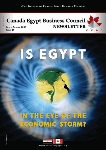 CEBC In Depth - Canada Egypt Business Council