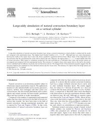 Large-eddy simulation of natural convection boundary layer on a ...