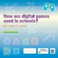 40 page PDF - Games in Schools - European Schoolnet
