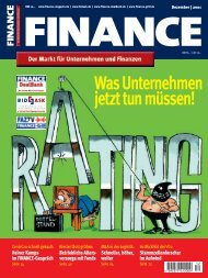 Finance - Dez. 2001 - Klein & Coll.