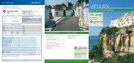 Apulien-Prospekt zum Herunterladen - Aachener Zeitung