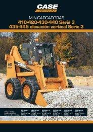 410-420-430-440 Serie 3 435-445 elevación vertical Serie 3