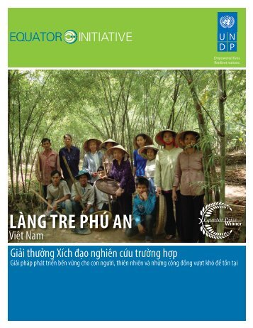 LÀNG TRE PHÚ AN - Equator Initiative