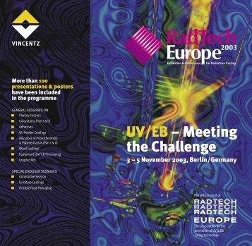 Download full Programme - RadTech Europe