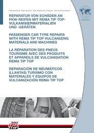 TT 12 Car /& Truck turismos camiones kit de reparación surtido 14 piezas reparación Tip Top
