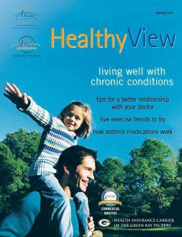Spring 2011 - Arise Health Plan