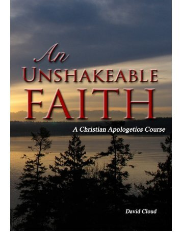 an_unshakeable_faith.. - Holy Bible Institute