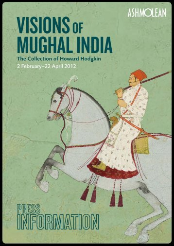 visions of mughal india - The Ashmolean Museum