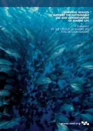 policy report - Census of Marine Life