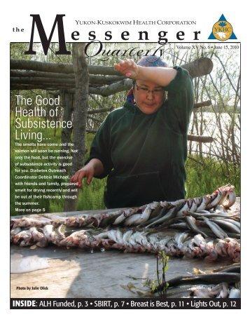 The Good Health of Subsistence Living... - Yukon-Kuskokwim Health ...