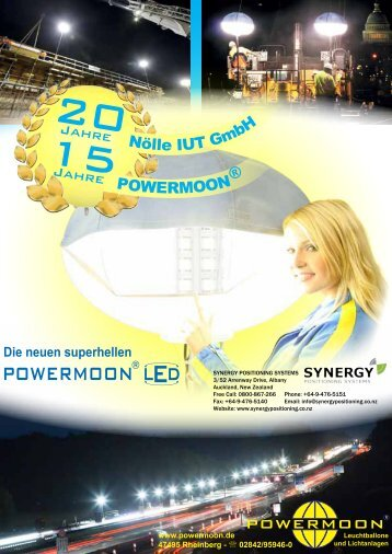 POWERMOON - Synergy Positioning Systems