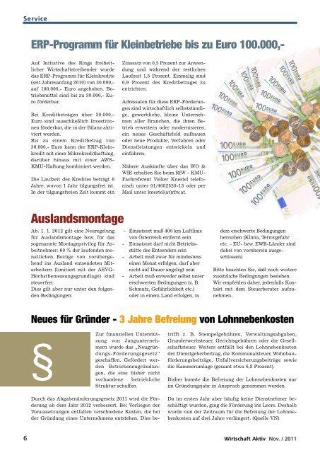 November - Ring Freiheitlicher Wirtschaftstreibender
