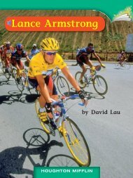 Lesson 30:Lance Armstrong