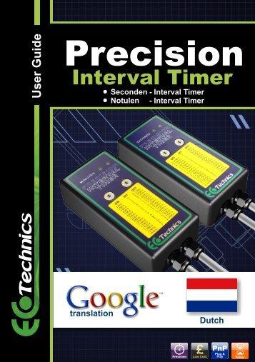 Precision - Ecotechnics.co.uk