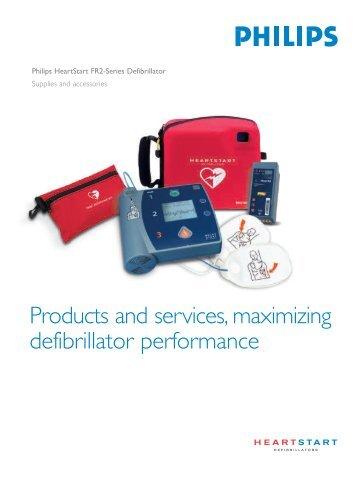 Heartstart FR2 Supplies & Accessories - DRE Medical Equipment