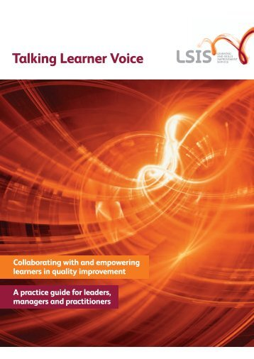Talking Learner Voice.pdf - Learning and Skills Improvement Service