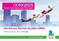 Workshop 2: Case ABN AMRO gedragsverandering - Facto Magazine