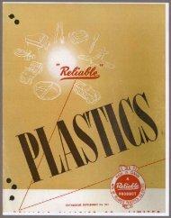 Plastics - Catalogue Supplement no. 201 - n.d. PDF download
