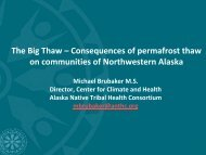 The Big Thaw - Climate Change in Alaska