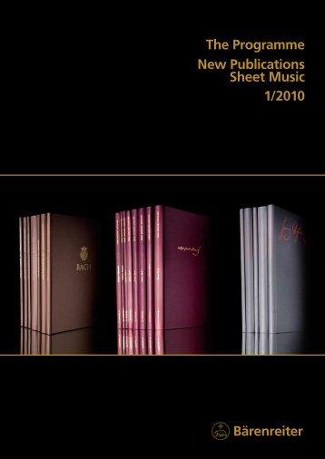 pdf (4,2 MB) - Bärenreiter Verlag