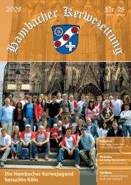 Nr. 28 2008 - Hambacher Brennesselkerwe