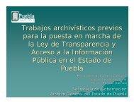 Trabajos archivísticos previos para la puesta en marcha de la Ley ...