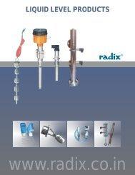 Liquid Level Products - Radix.co.in