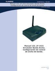 Manual 123, LP-1521 Enrutador Banda Ancha ... - LanPro