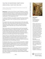 Yuletide 2012 Press Release - Winterthur