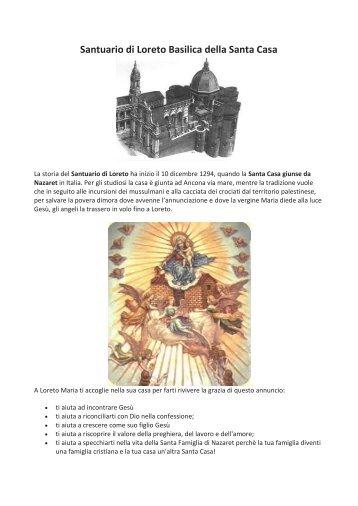 Santuario di Loreto Basilica della Santa Casa - L'Oasi di Engaddi