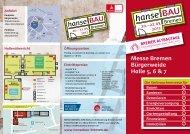 Messe Bremen Bürgerweide Halle 5, 6 & 7 - hanseBAU