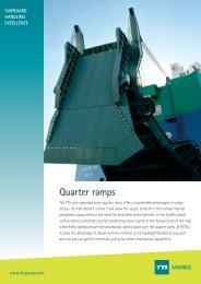 Quarter ramps MARINE - TTS Group ASA