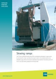 Slewing ramps MARINE - TTS Group ASA
