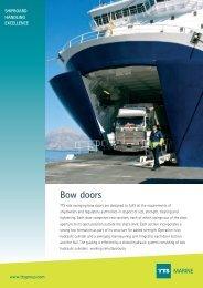 Bow doors MARINE - TTS Group ASA