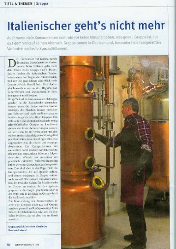 Distillerie Berta - ViP WEINE