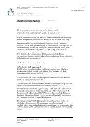 Risk- och konsekvensanalys för en förändrad ... - SLU