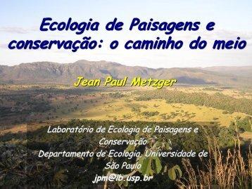 AULA 6 - Departamento de Ecologia - USP