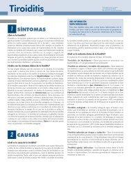 El folleto de Tiroiditis - American Thyroid Association