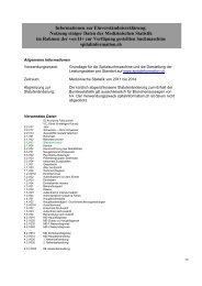 Informationen zur Einverständniserklärung - Spitalinformation.ch