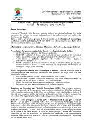 Dév eco solidaire CR 15/03/2012 (pdf - 29,91 ko) - Ville de Saint ...